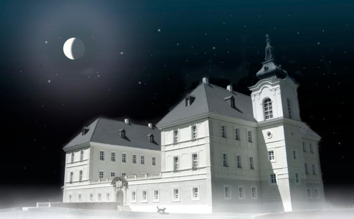 Pałac w Zaborze-model
